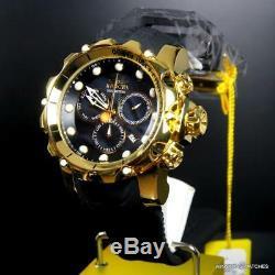 Invicta Venom Sea Dragon Gen II Black MOP High Polish Gold Plated 52mm Watch New