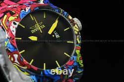 Invicta Woman 40mm DNA URBAN HydroPlated Aqua Plated GRAFFITI Multicolor Watch