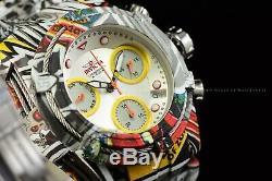 Invicta Women 42mm Bolt HydroPlated Aqua Plated GRAFFITI Swiss Multicolor Watch