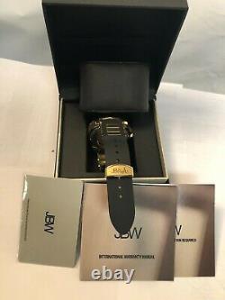 JBW Regal Diamond, 18k Gold-Plated Men's Watch J6332A