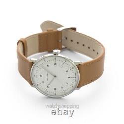 JUNGHANS Max Bill 041/4562.04 Matt Silver-plated Dial Men's Watch Genuine