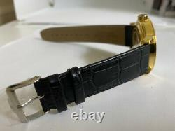 Jacques Lemans G147 Men's SWISS MADE Automatic ETA 2824-2 GOLD PLATED watch