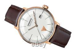 Junkers Men's Rose Gold Plated 6074-1 Bauhaus 40mm Timepiece