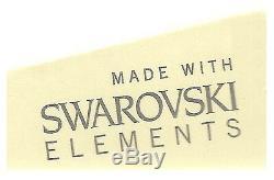 Karen Millen KM111GM Swarovski Crystal Gold Plated Bracelet 2Yr Guar RRP £145