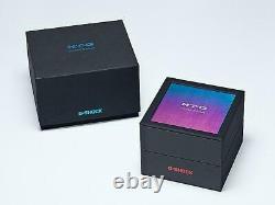 Limited Edition Casio G-SHOCK MT-G Blue Phoenix Rainbow Ion Plate MTG-B2000PH-2A