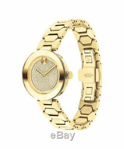 MOVADO Bold Mid-size yellow gold ion-plated dial Ladies Watch (3600492)
