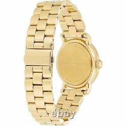 Marc By Marc Jacobs MBM3243 Baker 36mm White Dial Gold Plated Steel Ladies Watch