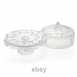 Marquis by Waterford Finley 12.5 3-in-1 Crystal Cake Plate with Lid