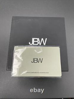 Men's JBW Jet Setter III Diamond Accent 18k Gold-Plated Triple Time
