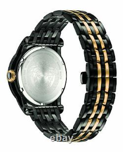 Mens Ion Plated Black Versace Watches Palazzo Empire VERD01119