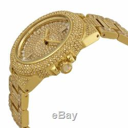 Michael Kors Camille Ladies Watch MK5720Gold Crystal Pave DialGold Plated Band