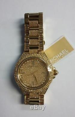 Michael Kors MK5720 Camille Crystal Encrusted Gold Ion-plated Ladies Watch