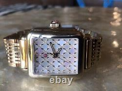 Michele Deco Yellow Gold Plated Art Deco Watch Rare Model