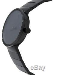 Movado Edge Black Dial Black Ion-Plated Men's Watch 3680007