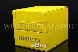 NEW Invicta Men's 53MM Speedway VIPER 18 K Gold Plated Chrono S. S Bracelet Watch