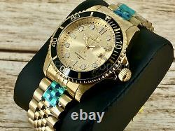 NEW Invicta Men's Pro Diver Yellow Gold Plated HammerHead Shark Edition Watch