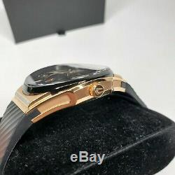 New Bulova Curv Watch Rose Gold Plated Case With Diamonds 98r239 $995