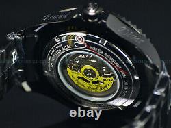 New Invicta 54mm Grand Diver Automatic KHAKI RADAR CRYSTAL Black Plated SS Watch