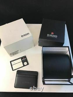 New Rado Diastar R12413343 Automatic Gold Plated Swiss Men's Wrist Watch