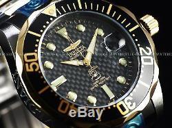 RARE NEW Invicta 15846 Mens Grand Diver Auto 47mm Gunmetal Plated SS 300M Diver