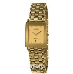 Rado Florence R48843253 Gold Plated Champagne Dial 24mm Quartz Ladies Watch