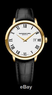 Raymond Weil Toccata Men's Quartz Classic Gold-Plated Watch 5488-PC-00300