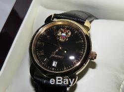Russian quartz watch PRESIDENT (4076681). POLJOT. Gold-plated. Man`s Fashion