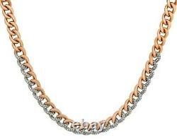 SWAROVSKI Lane 18k Rose Gold-Plated, Clear Swarovski Crystal Necklace