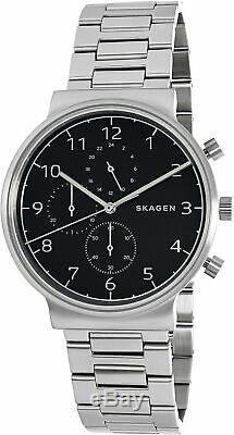 Skagen Men's Ancher SKW6360 Silver Stainless-Steel Plated Quartz Dress Watch
