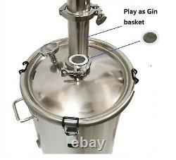 StillMate 65L Crystal Clear 2x4 Plate Still Make Moonshine Gin Whisky Bourbon