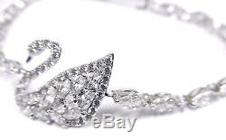 Swan Lake Crystal Bracelet White Rhodium Plating 2017 Swarovski Jewelry 5379947