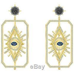 Swarovski 5490920 Tarot Magic Earrings Talking Pce, Gold Plated 6.5x3.2cm RRP$299