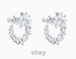 Swarovski Louison earrings white rhodium plated 5419245