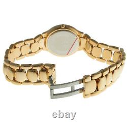 Swiss Edition Women's 14K Gold Plated Stainless Steel Round Watch