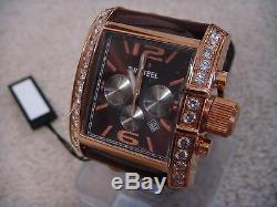 TW Steel Goliath Rose Gold Plated Zirconium Chronograph Men's Dress Watch TW80