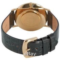 ULTRA SLIM Stuhrling 601 33351 Classic Ascot Swiss 23K Gold Plated Mens Watch