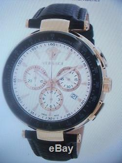Versace Men's Mystique Rose Gold Ion-Plated Watch