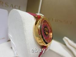 Versace Women's VK6030013 Mystique Foulard Rose Gold Ion-Plated Diamond Watch