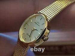 Vintage Jules Jurgensen 4874 Gold Plated Quartz Ladies Watch (Old Stock)