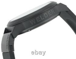 Welder by U-boat K24 Automatic Steel Black Ion Plated Mens Watch Date K24-3105