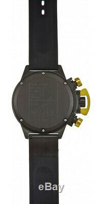 Welder by U-boat K24 Chronograph Date Black Ion-Plated Steel Mens Watch K24-3309