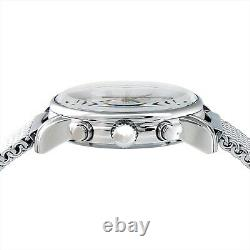 ZEPPELIN watch 100 years anniversary silver dial plate 7680-M1 Mens NEW